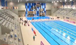 Entregan centro acuático para Panamericanos 2019