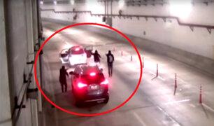 Lamsac se pronuncia sobre asalto a familia en túnel de la Línea Amarilla