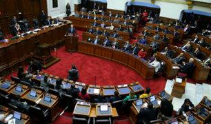 Cuestión de confianza: Congreso reanuda debate hoy a las 9 de la mañana
