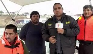 San Bartolo: pescadores denuncian que no pueden trabajar por obras de alcantarillado