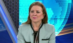 Presidenta del Confiep: Se necesita estabilidad para generar inversiones en nuestro país