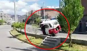 Ayacucho: conductor salva de morir tras participar en carrera de mototaxis