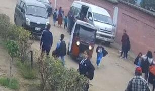 VES: ladrón en mototaxi atropelló a niño de 7 años cuando fugaba