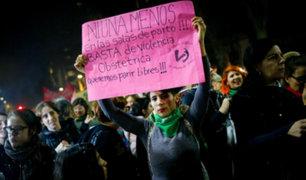 Argentina: así se vivió la marcha contra ola de feminicidios