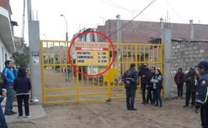 Municipio retira cartel que servía para cobrar 'peaje' a vecinos en VES