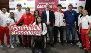'Deporte Perú 5k': reconocidos deportistas competirán en carrera del IPD