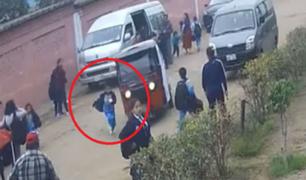 Pedirán prisión preventiva para mototaxista que atropelló a niño tras asalto