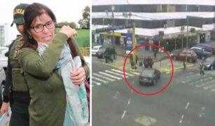 Profesora que atropelló escolares será trasladada a Penal de Chorrillos