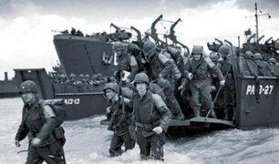 Conmemoran los 75 años del desembarco de Normandía