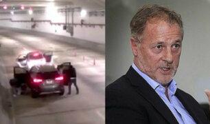 Alcalde de Lima se pronuncia por asalto en túnel de Línea Amarilla