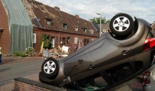 Alemania: tornado desató destrucción en la ciudad de Bocholt