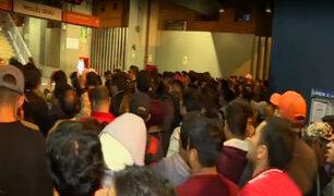 SJM: pasajeros quedan atrapados en vagón de Metro de Lima por desperfecto