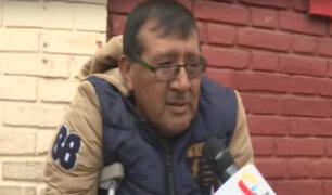 Comerciante que cayó a Vía Expresa denunciará a fiscalizadores