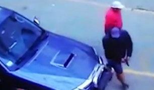 Comas: delincuentes roban camioneta 4x4 a plena luz del día