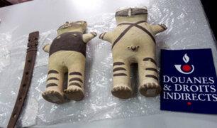 Francia devuelve a Perú piezas precolombinas decomisadas en 2007