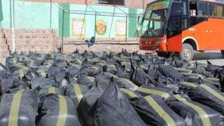 Incautan más de 1 millón de soles en mercadería de contrabando en Puno