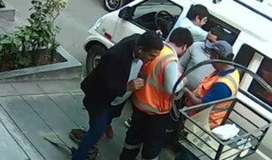 Lince: delincuentes asaltan a obreros de construcción