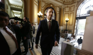Comisión de Ética solicitará que suspensión de Salaverry se vote próxima semana