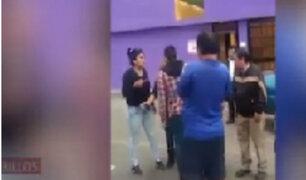 Chorrillos: sujeto golpeó a mujer que le reclamó por fumar marihuana frente a colegio