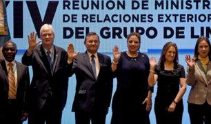 Grupo de Lima intensificará presión contra régimen de Nicolás Maduro