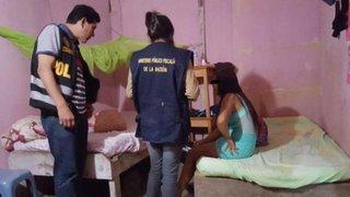 Tarapoto: rescatan a adolescente de 16 años que era explotada sexualmente