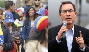Vizcarra: venezolanos ingresarán con pasaporte y visa humanitaria desde 15 de junio