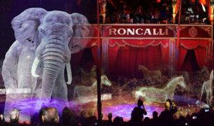 Alemania: circo utiliza hologramas en vez de animales y el resultado es impresionante