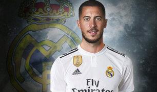 Real Madrid: Eden Hazard es nuevo jugador merengue para las próximas cinco temporadas