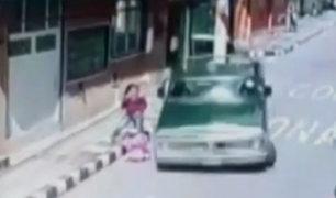 Colombia: madre e hija se salvaron de milagro de fatal accidente