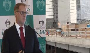 Muñoz: puente Andrés Reyes será entregado en septiembre