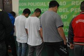 San Borja: tras intensa persecución intervienen a presuntos raqueteros