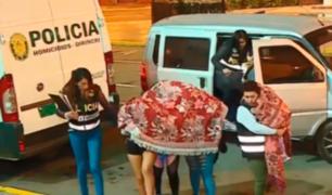 Ventanilla: rescatan a menores explotadas sexualmente en falso hotel