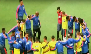 Amistoso Perú–Colombia: selección 'cafetera' reconoció el estadio Monumental