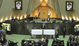 Irán aprueba castigar con pena de muerte los ataques con ácido