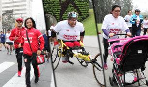 """IPD: Carrera """"Deporte Perú 5K"""" contó con la participación de más de 10 mil personas"""
