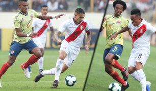 Perú vs Colombia: la Bicolor cayó por tres goles en el Monumental