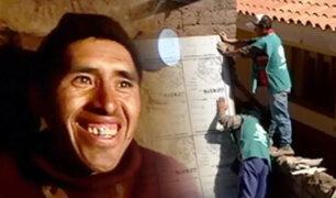 Helada que mata en Palccoyo: abrigando con solidaridad