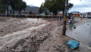 Senamhi pronostica intensas precipitaciones al sur del país