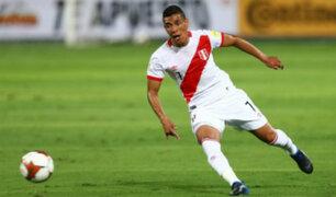 Paolo Hurtado quedó fuera de la Copa América por fractura en el quinto metatarsiano