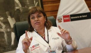 """Ministra de Salud: """"Tratamiento del Guillian Barré es gratuito"""""""