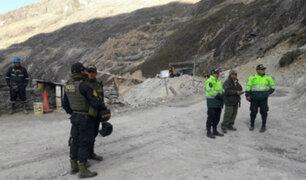 PNP destruye campamento minero instalado dentro del Parque Nacional Huascarán