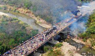 Más de 70 mil venezolanos cruzaron por la frontera con Colombia