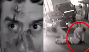 San Miguel: Hombre fue golpeado por vecinos y un funcionario de la Municipalidad
