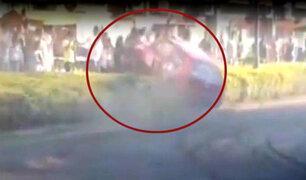Hungría: carrera de autos dejó 11 heridos