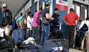 Surquillo: venezolanos se amanecen para regularizar papeles ante la policía