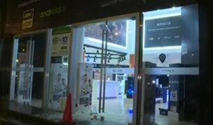 San Borja: roban conocida tienda de productos electrónicos por segunda vez
