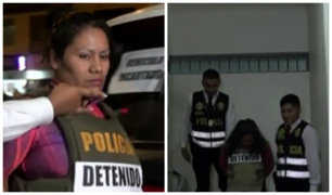 SJL: PNP captura a vendedores de droga al menudeo