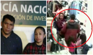 Real Plaza Salaverry: pareja de 'tenderos' usaba a sus hijos para robar ropa
