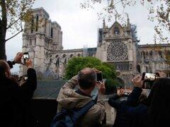 Francia: primera misa en la catedral de Notre Dame tras incendio