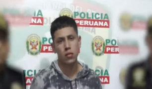 Chorrillos: capturan a 'Aguja', líder de peligrosa banda de raqueteros